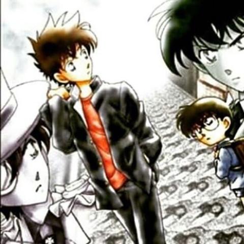 Für all die die ein Bild noch dazu brauchen. ; ) - (Detektiv Conan, Conan, Kaito Kid)