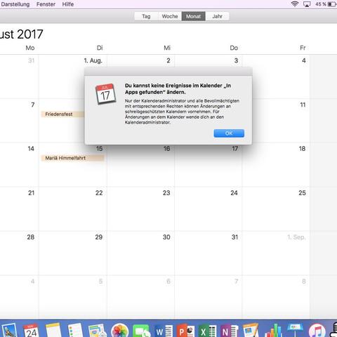 Sd Karte Schreibschutz Aufheben Ohne Schalter.Kalender Schreibgeschützt Mac
