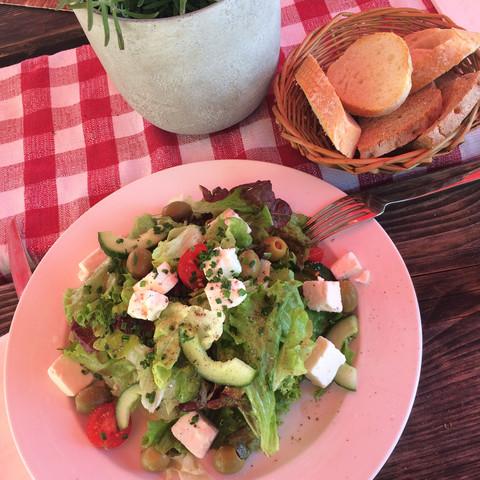 Kalorien Salat Ohne Hirtenkäse Oliven Gesundheit Gesundheit