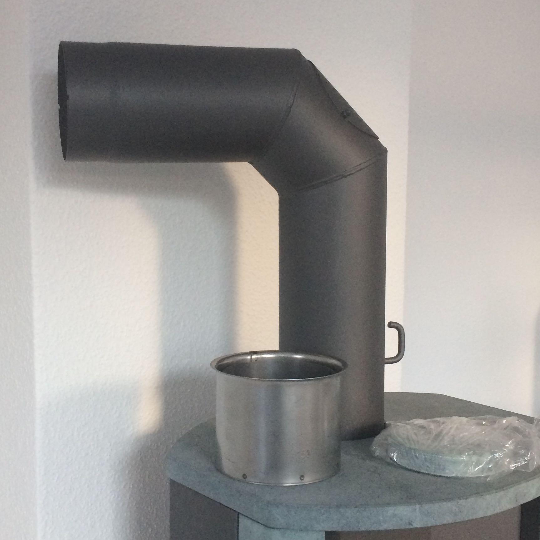 kaminofen anschlie en was brauche ich noch wand ofen kamin. Black Bedroom Furniture Sets. Home Design Ideas