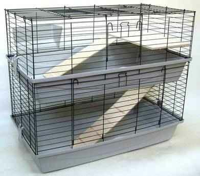 Mein Käfig - (Verhalten, Kaninchen, Locken)
