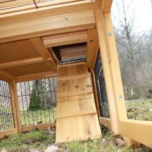 kaninchenstall treppe problem kaninchen stall. Black Bedroom Furniture Sets. Home Design Ideas