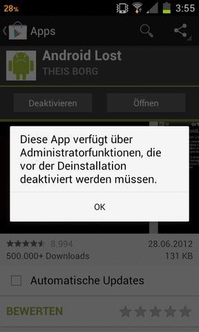so sieht DAS dann aus wenn ich es versuche zu löschen - (Handy, Samsung Galaxy S2)