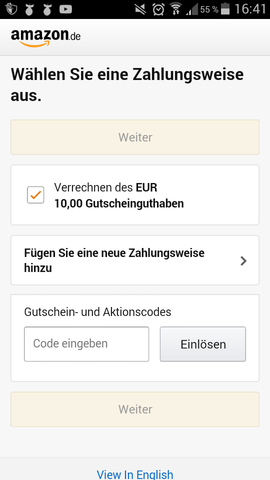 Was tun?! - (Amazon, Bestellung)