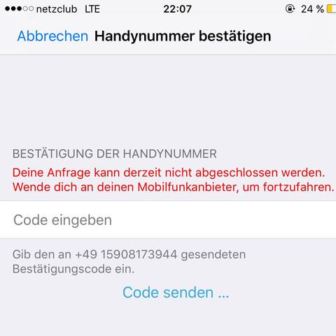 Hab den Code eingegeben und dann kommt sowas - (Handy, Apple, iTunes)