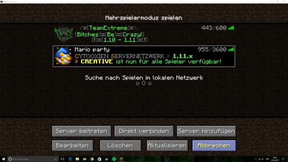 hier bitteschön ein Bild xD - (Minecraft-Server, Mario party)