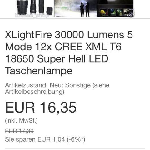 ..... - (taschenlampe, Preis Leistung)