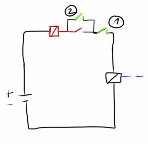 Kann der Schaltplan funktionieren? Automatische Türe (Computer ...