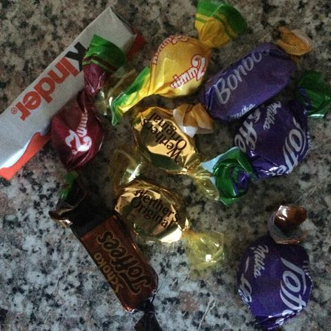Lecker Schokolade Süsss  - (abnehmen, menge, suesses)
