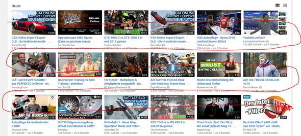 heutige videos meiner abos - (PC, Internet, Youtube)