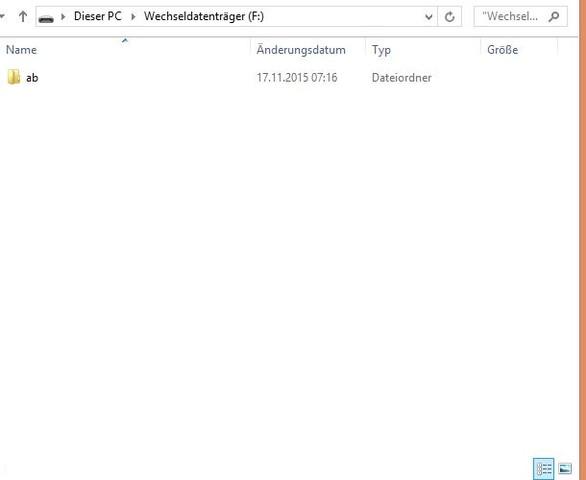 ordner - (USB, System, Backup)
