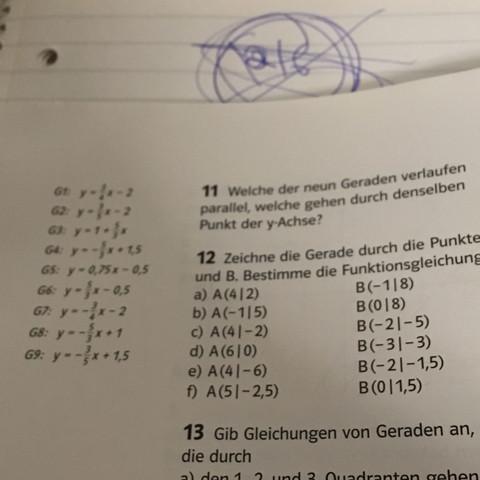 Aufgabe 11 - (Mathe, Parallel)