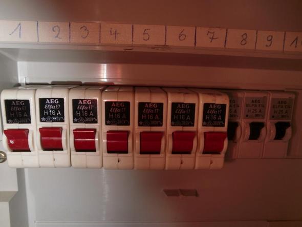 Verteilerkasten - (Technik, Strom, Sicherungskasten)