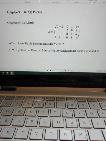 - (Schule, Mathe, Matrix)