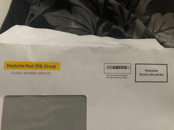 Kann ich den Brief Umschlag nochmal verwenden weil ist ja keine Briefmarke 😂?