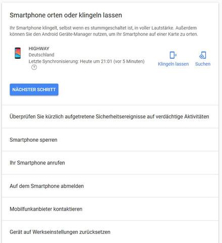 Zur Info - (Telekommunikation, android 5.0, standortfreigabe)