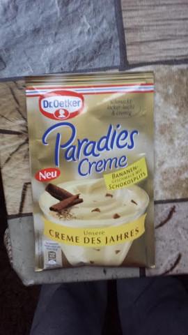 Kann ich Die Paradies Creme auch auf einen Kuchen machen?