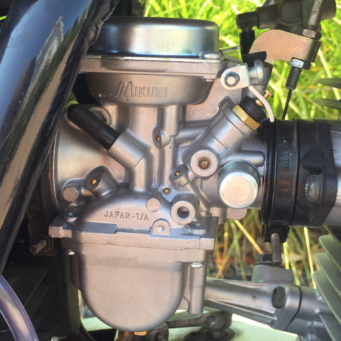 Besagter Vergaser - (Motorrad, 125er, Vergaser)