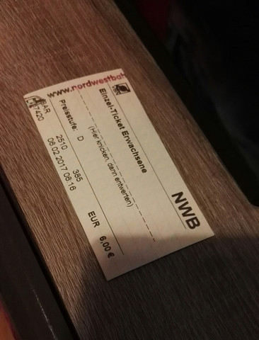 Nicht entwertete Fahrkarte - (Gesetz, Deutsche-Bahn, Allgemeinbildung)
