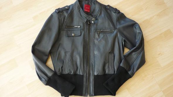VERO MODA Hinky Short Leather Jacket - (Beauty, Mode, Kleidung)