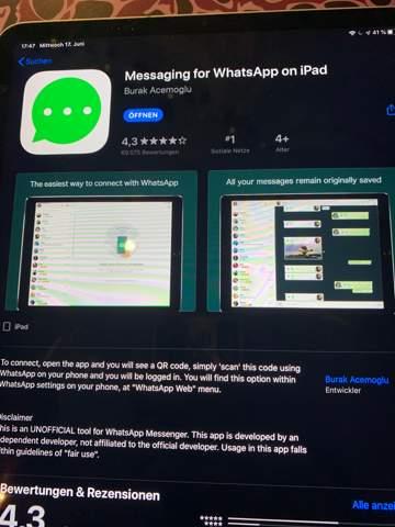 Kann ich dieser WhatsApp App vertrauen?