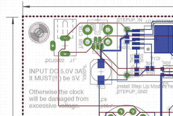 Platine. Top Layer = VCC Plane, Bottom Layer = GND Plane - (Computer, Elektronik, Strom)