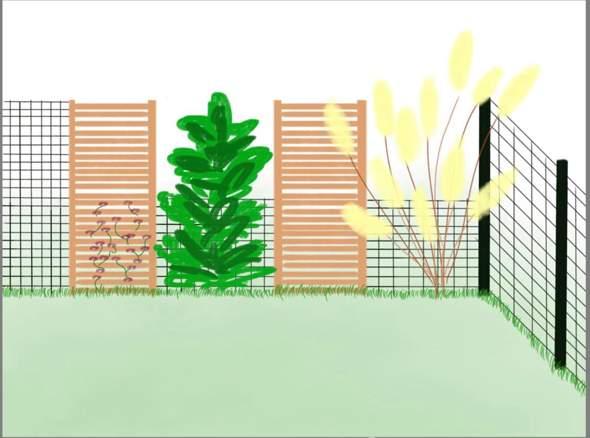 Kann ich eine Gartenpflanze (zB. Bambus / Pampas oder sogar Hortensien) samt Topf / geeignetem Behälter in den Boden pflanzen?