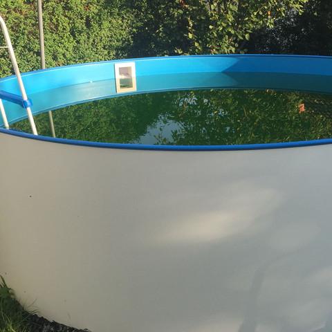 Pool im Herbst - (Winter, Pool)