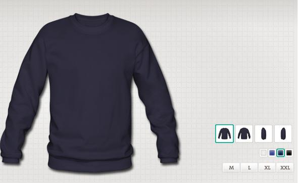 Der Pullover bei Spreadshirt - (Pullover, Rücksendung, zurückschicken)