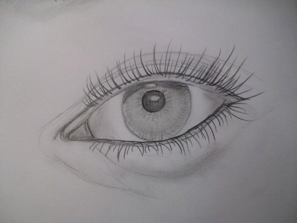 Auge - (Kunst, zeichnen, Oberstufe)