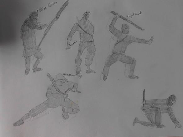 Ninja - (Kunst, malen)
