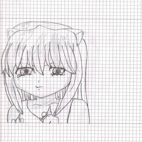 Meine Zeichnung Elfen Lied Lucy - (Zeichnung, Beurteilung)