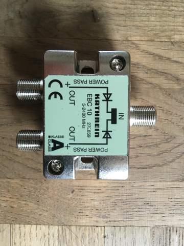 Kann ich hiermit (Foto ) einen Twin Tuner betreiben?