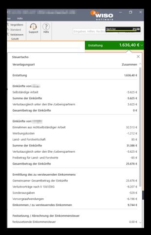 - (Steuern, Wirtschaft und Finanzen, Steuererklärung)