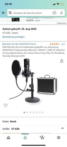 Kann ich mein Studiomikro mit einem Lautsprecher verbinden?