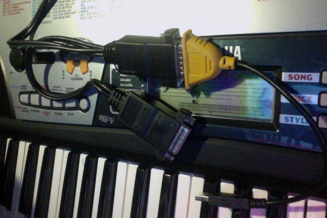 kann ich mein yamaha psr 175 keyboard in garageband nutzen macbook midi. Black Bedroom Furniture Sets. Home Design Ideas