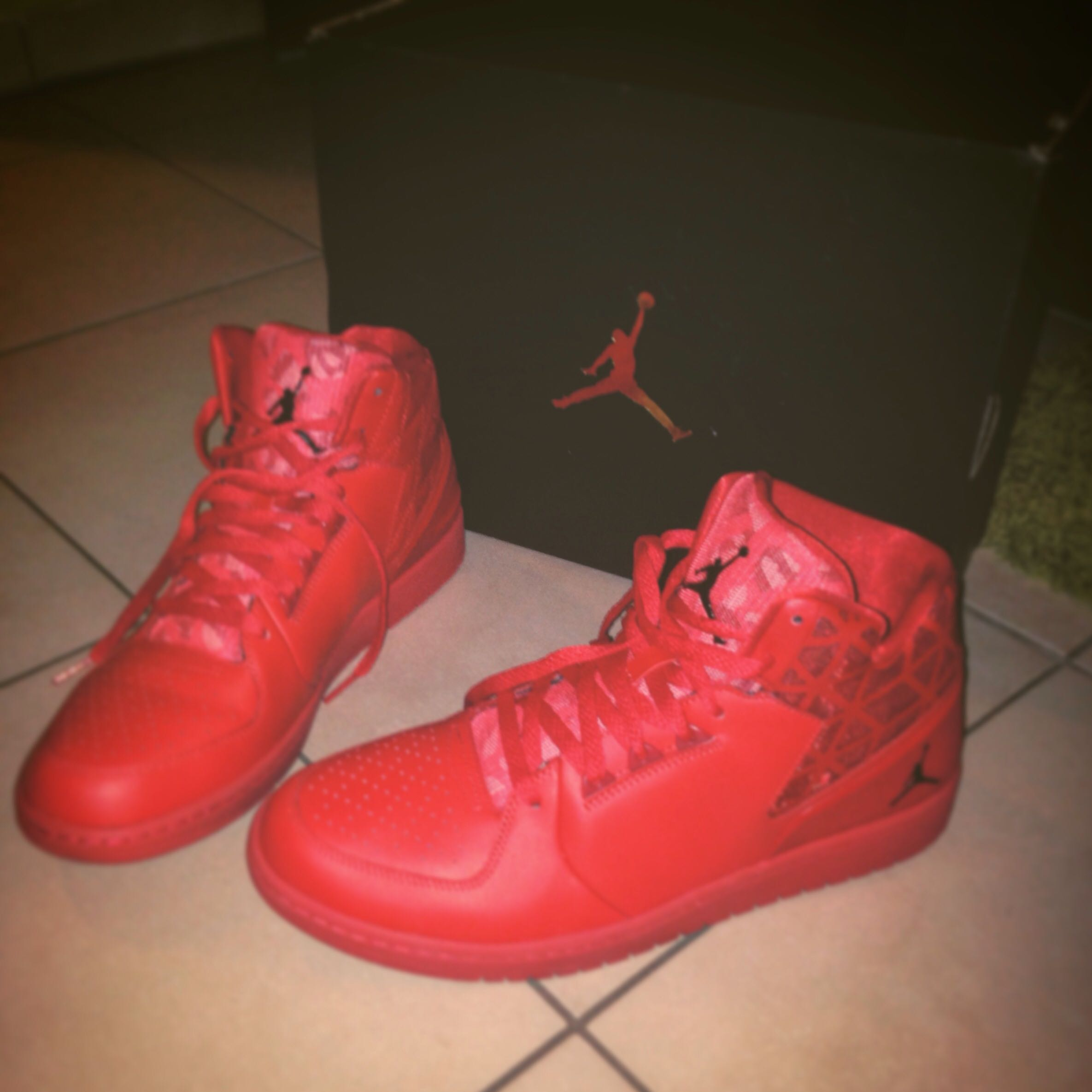 Jordan 1 Flight 3 Red