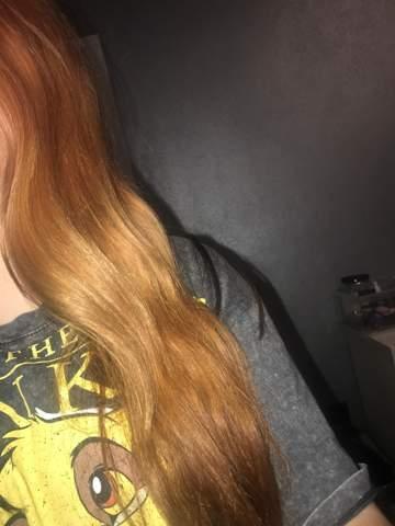 Kann ich meine orangenen haare pink tönen?