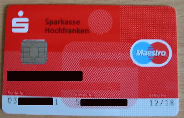 Karte1 - (Bank, Karten, Bargeldlos)