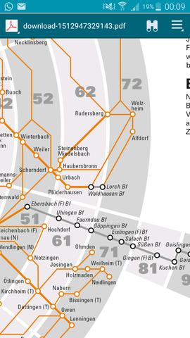 Kann ich mit meinem VVS von Stuttgart nach Göppingen oberhausen fahren?