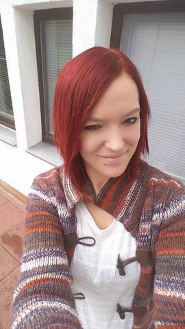 das ist meine Haarfarbe jetzt :) - (Haare, Beauty, Haarfarbe)