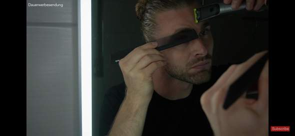 Kann ich so meine Augenbrauen trimmen?