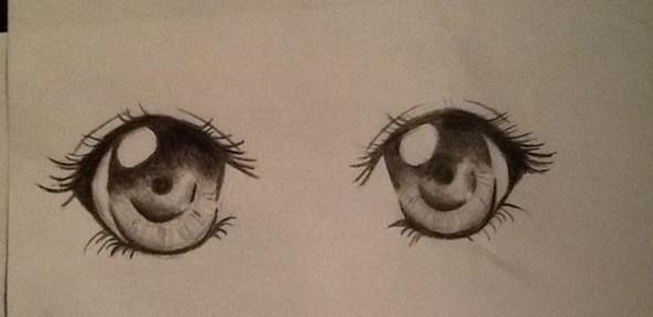 Meine Augen - (Youtube, Manga, zeichnen)