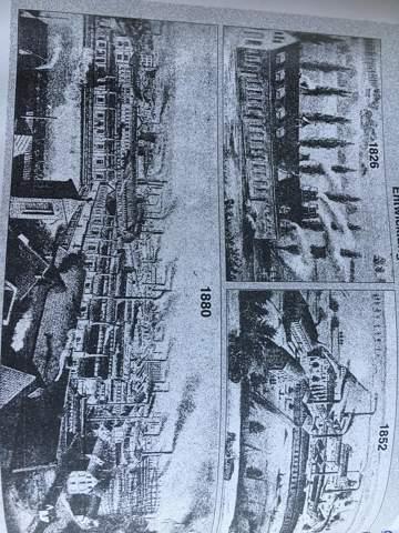 Kann jemand bei diesen Bildern die Entwicklung der Kruppwerke beschreiben?