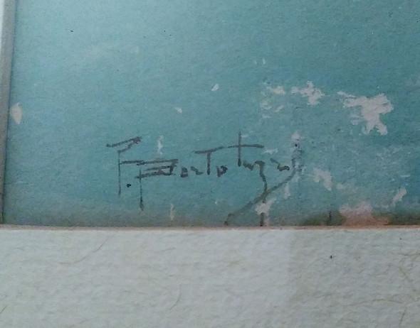 Signatur Aquarell - (Bilder, Kunst, Künstler)