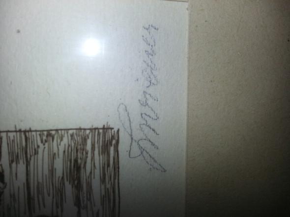 Foto - (Unterschrift, alte schrift)