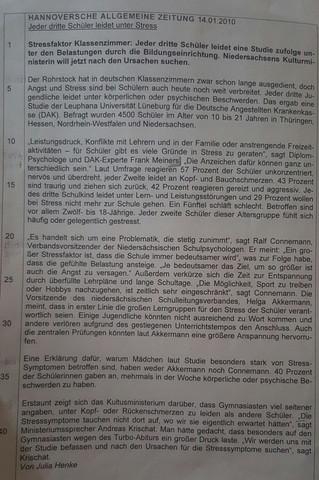 Text - (Schule, deutsch, Unterricht)