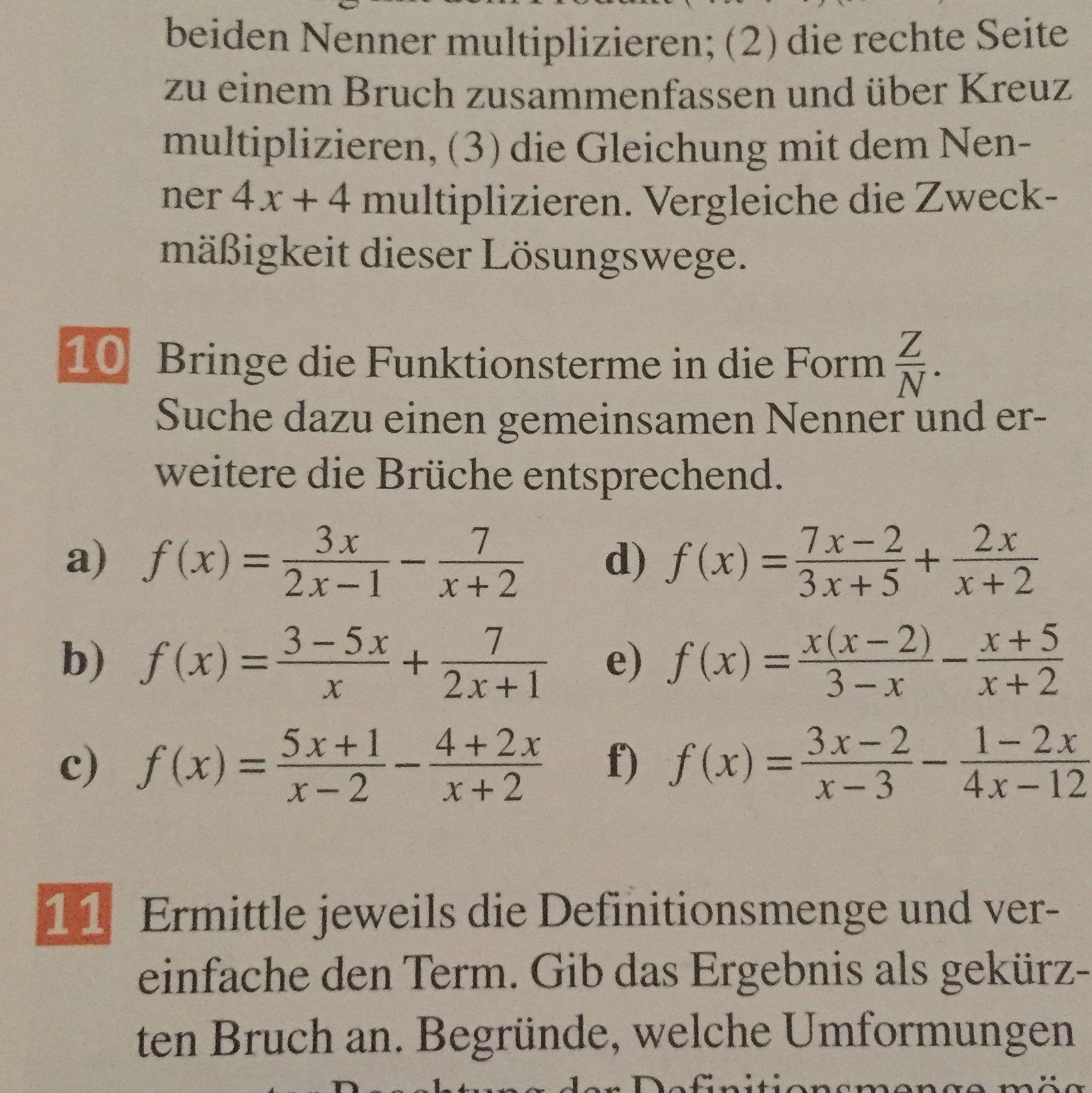 Kann jemand für mich die Mathe Hausaufgaben machen?