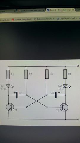 Blinkschaltung - (Technik, Elektronik, Schaltung)