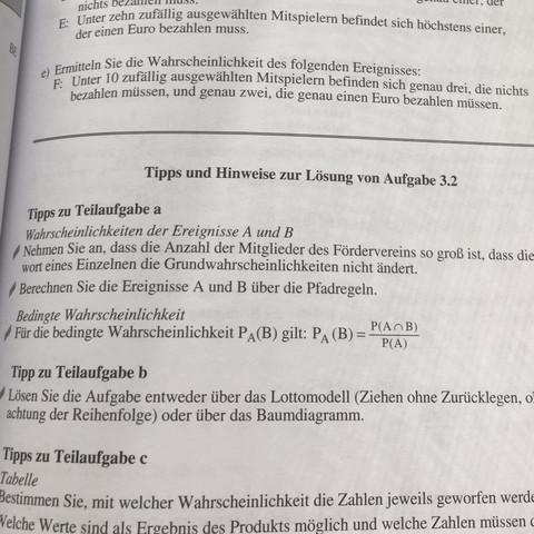 Warum muss man die Bernoulli Formel benutzen - (Mathematik, Abitur, schwer)